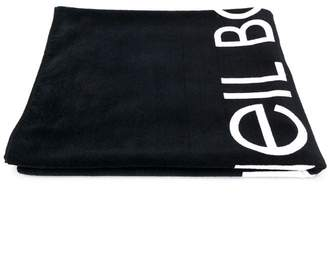 Neil Barrett Kids logo beach towel