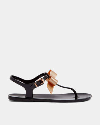 6cb48eb60b88 Ted Baker TEIYA Bow detail jelly sandals