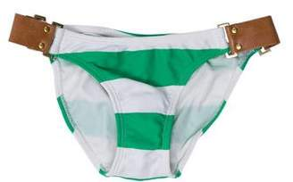 Vix Paula Hermanny Striped Swimsuit Bottom w/ Tags