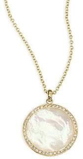 Ippolita Lollipop® Diamond & Mother-Of-Pearl Pendant Necklace