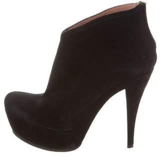 Pura Lopez Platform Ankle Boots