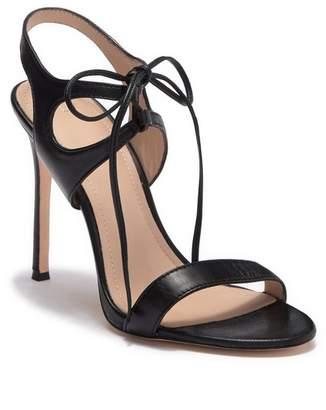 Pour La Victoire Elisa Leather Heel Sandal