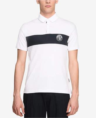 Armani Exchange Men's Single Stripe T-Shirt