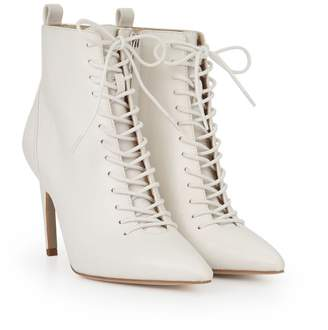 Sam Edelman Frania Lace Up Stilletto Bootie
