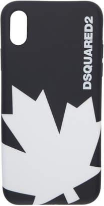 DSQUARED2 Black Leaf iPhone X Case