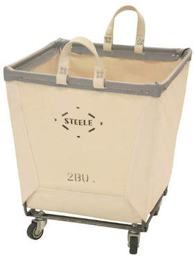 Laundry by Shelli Segal Steele Canvas Square Carry Hamper
