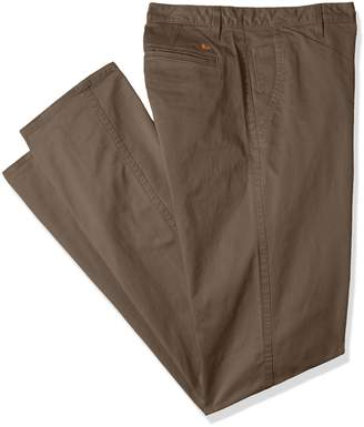 Dockers Big and Tall Modern Tapered Fit Alpha Khaki Pants, Dark Pebble/Stretch