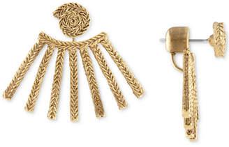 Rachel Roy Gold-Tone Rope Floater Earrings