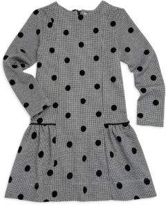 Lili Gaufrette Little Girl's Polka Dot Dress