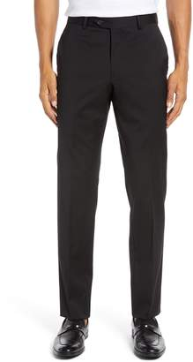 Nordstrom Trim Fit Stretch Wool Trousers