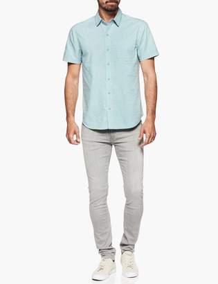 Paige Becker Shirt - Blue Willow Sleet Print