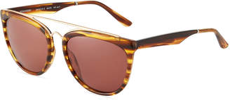 Smoke X Mirrors Volunteers Acetate/Stainless Steel Aviator Sunglasses