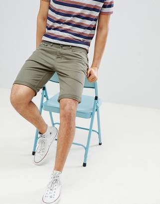 New Look Shorts With Pocket Detail In Khaki