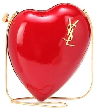Saint Laurent Love Box leather shoulder bag