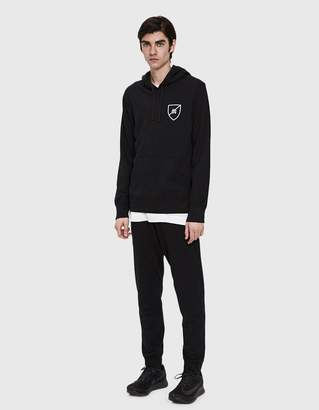 Reigning Champ Shield Logo Pullover Hoodie