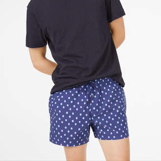 Club Monaco Arlen Ditzy Dot Swim Trunk