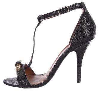 Givenchy Embellished Ankle-Strap Sandals