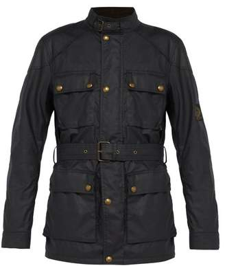 Belstaff Trialmaster Waxed Cotton Jacket - Mens - Navy