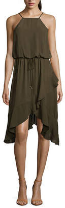 City Triangle Casual Sleeveless Wrap Dress-Juniors