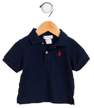 Ralph Lauren Infant Boys' Short Sleeve Polo Shirt