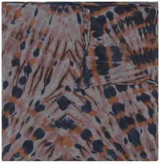 Raquel Allegra tie-dye print scarf