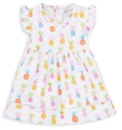 Kissy Kissy Baby Girl's Two-Piece Pineapple A-Line Dress& Bloomers Set