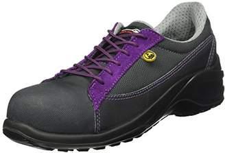 Dahlia Giasco BL105K Size S1P Safety Shoe - Black/Purple