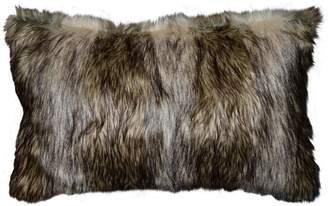 Richmond Spencer Home Decor Faux Fur Oblong Throw Pillow