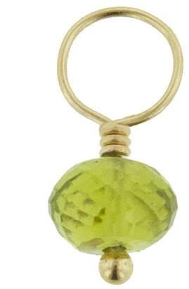 Heather B Moore Peridot Charm - Yellow Gold