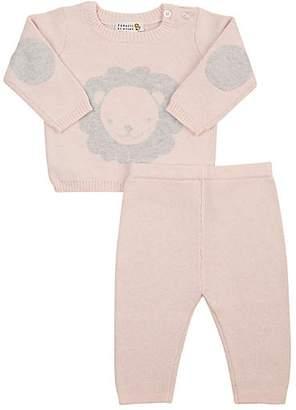 Barneys New York Infants' Lion Sweater & Pants Set - Pink