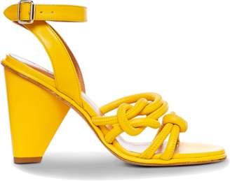 Derek Lam Nuru Nappa Cone Heel Sandal
