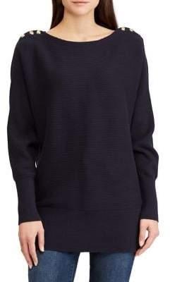 Lauren Ralph Lauren Boatneck Long-Sleeve Sweater