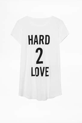 Zadig & Voltaire Skinny Slub T-Shirt