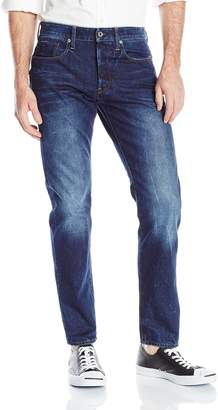 G Star Men's Stean Tapered Fit Jean In Wisk Denim