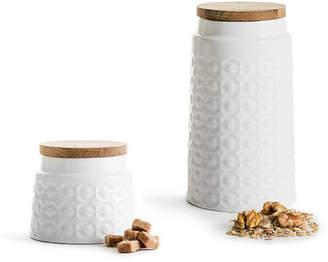 Sagaform Nature Storage Stoneware Jar Set