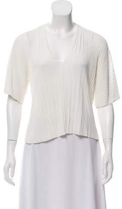 Jean Paul Gaultier Soleil Short Sleeve Plunge Top