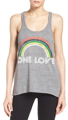 Women's Chaser One Love Lounge Tank $58 thestylecure.com