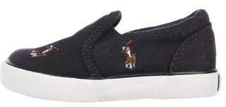 Polo Ralph Lauren Boys' Canvas Slip-On Sneakers