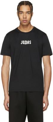 Givenchy Black Small 'Judas' T-Shirt $440 thestylecure.com