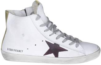 Golden Goose High-cut Patch Sneakers