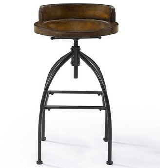 Crosley Furniture Edison Adjustable Height Stool