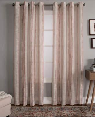 "Miller Curtains Bazille 50"" x 84"" Stripe Window Panel"