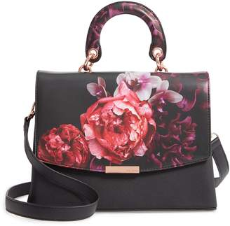 Ted Baker Splendour Lady Bag Faux Leather Top Handle Satchel