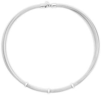 Alor Women's 18K Gold & Diamond Stainless Steel Cable Necklace