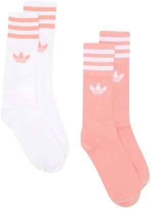 adidas set of two crew socks