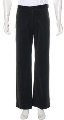 Armani Collezioni Flat Front Velour Pants w/ Tags