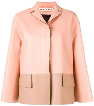 Marni colour-block jacket