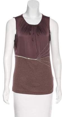 Fabiana Filippi Sleeveless Embellished Top