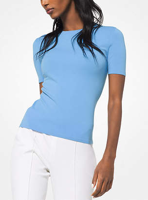 Michael Kors Stretch-Viscose T-Shirt
