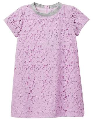 Andy & Evan Lavender Sporty Lace Dress (Toddler & Little Girls)